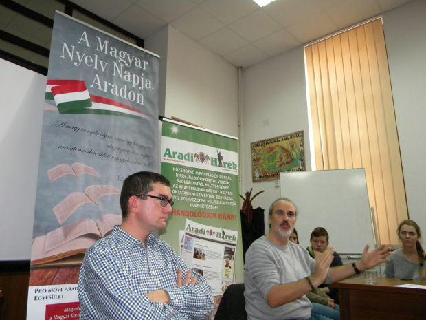 <em>Hír szerkesztése</em> Találkozó kortárs szerzőkkel a Magyar Nyelv Napja alkalmából