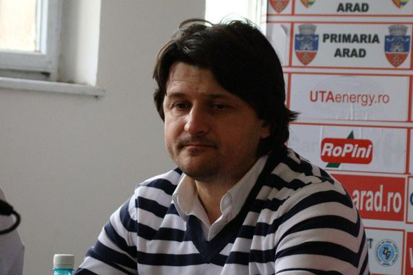 <em>Hír szerkesztése</em> Adrian Falub az UTA új edzője