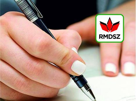 <em>Hír szerkesztése</em> Támogassa az RMDSZ jelöltjét aláírásával!