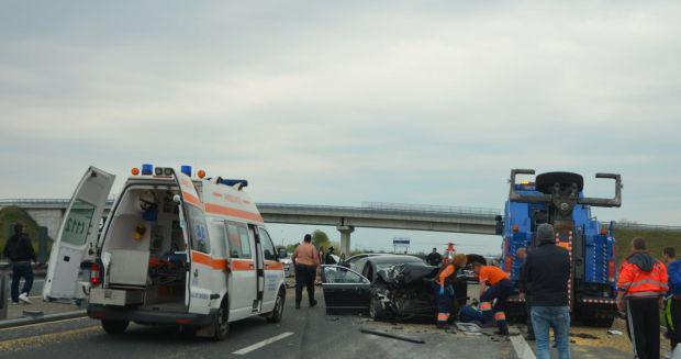 <em>Hír szerkesztése</em> Láncbaleset a Nagylak–Arad autópályaszakaszon