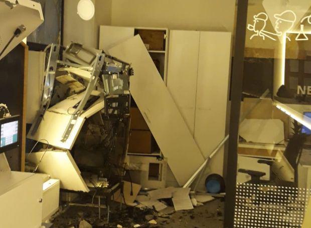 <em>Hír szerkesztése</em> Felrobbantottak egy bankautomatát Újaradon