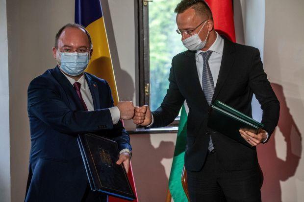 <em>Hír szerkesztése</em> Aláírták az új határátkelőkről szóló román–magyar megállapodást