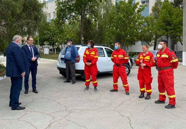 <em>Hír szerkesztése</em> Aradi magyar mentős is dolgozott Moldovában [AUDIO]