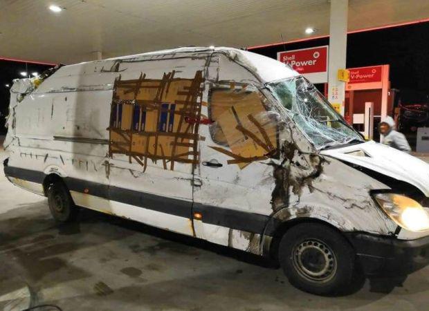 <em>Hír szerkesztése</em> Egy ronccsal száguldott az Arad–Temesvár autópályán