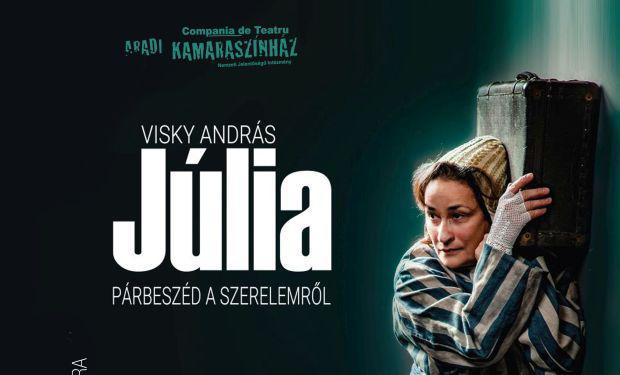 <em>Hír szerkesztése</em> Ráckevei Anna Júliája az Aradi Kamaraszínház műsorán