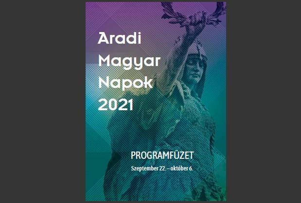 <em>Hír szerkesztése</em> Online elérhető az Aradi Magyar Napok programfüzetje
