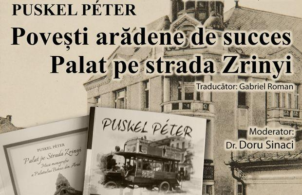 <em>Hír szerkesztése</em> Román nyelven jelentették meg Puskel Péter két könyvét [AUDIO]