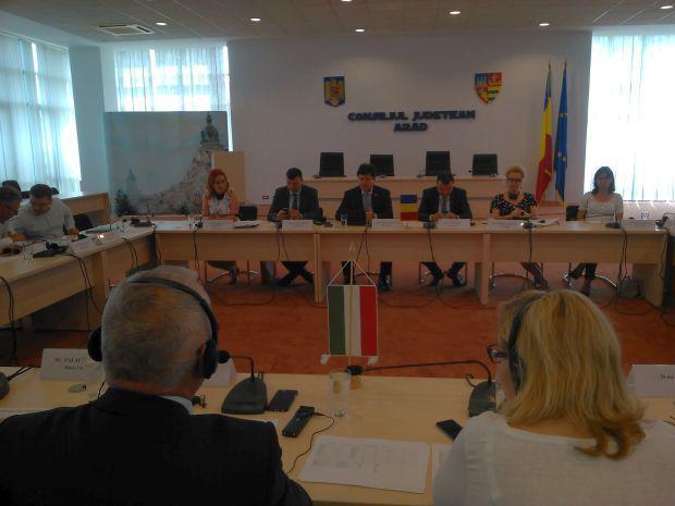 <em>Hír szerkesztése</em> 186 millió euróról tárgyaltak a határ menti megyék vezetői [AUDIÓ]