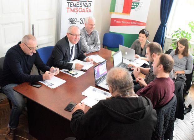 <em>Hír szerkesztése</em> Temesvár 30: forradalmi emlékhét