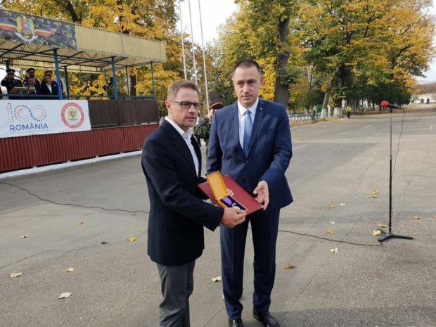 <em>Hír szerkesztése</em> A védelmi miniszter érdeméremmel tüntette ki Török Zsoltot