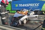 <em>Hír szerkesztése</em> Várakozó kamionba rohant egy személyautó a sztrádán [FRISSÍTVE]