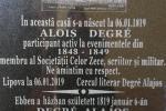 <em>Hír szerkesztése</em> Degré Alajos dédunokája olvas fel Lippán
