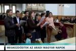 Embedded thumbnail for Megkezdődtek az Aradi Magyar Napok