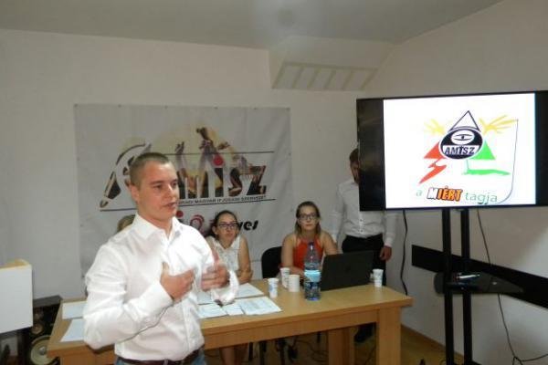<em>Hír szerkesztése</em> Pál Norbert maradt az AMISZ elnöke [AUDIÓ]