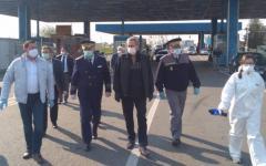 <em>Hír szerkesztése</em> A nagylaki határátkelőhelyen tájékozódott a belügyminiszter