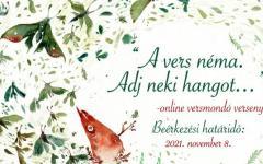 <em>Hír szerkesztése</em> Online versmondóverseny a Magyar Szórvány Napja alkalmából