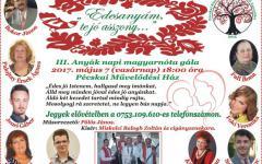 <em>Hír szerkesztése</em> III. Anyák-napi nótagála Pécskán
