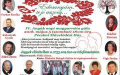 <em>Hír szerkesztése</em> Jótékonysági nótagála Pécskán