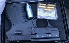 <em>Hír szerkesztése</em> Fegyvert találtak egy busz utasánál