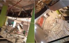 <em>Hír szerkesztése</em> Beszakadt az álmennyezet az Atriumban [VIDEO]