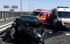 <em>Hír szerkesztése</em> Heten sérültek meg az autópályán történt balesetben