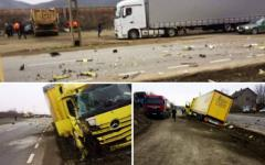 <em>Hír szerkesztése</em> A gyalogos húzta a rövidebbet a kamionos balesetben
