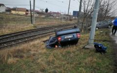 <em>Hír szerkesztése</em> Látványos baleset, szerencsére áldozatok nélkül
