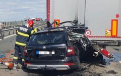 <em>Hír szerkesztése</em> Súlyos balesetek az autópályán