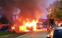 <em>Hír szerkesztése</em> Kiégett egy villamos Aradon [VIDEO]