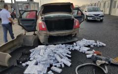 <em>Hír szerkesztése</em> Autóba rejtett cigarettát találtak
