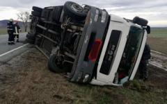 <em>Hír szerkesztése</em> Felborult egy kamion Ópáloson