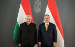 <em>Hír szerkesztése</em> Orbán Viktor vendége volt Jakubinyi György érsek
