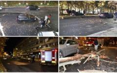 <em>Hír szerkesztése</em> Hajszál híján tragédia: fa dőlt az útra a főutcán