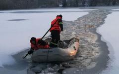 <em>Hír szerkesztése</em> Kutyát mentettek ki a fagyott tóból