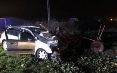 <em>Hír szerkesztése</em> Szekérrel ütközött egy ittas sofőr