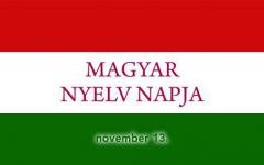 <em>Hír szerkesztése</em> November 13.: a magyar nyelv napja