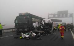 <em>Hír szerkesztése</em> A román busz és kamion magyarországi balesete képekben