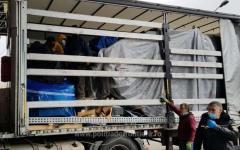 <em>Hír szerkesztése</em> Tizenhárom migráns bújt meg egy kamionban