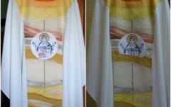 <em>Hír szerkesztése</em> Kicenzúrázták a magyar feliratot a pápa csíksomlyói miseruhájáról