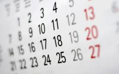 <em>Hír szerkesztése</em> Ezek a jövő évi munkaszüneti napok