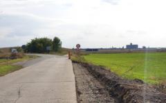 <em>Hír szerkesztése</em> Megkezdték a Pécska–Tornya út javítását