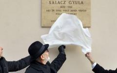 <em>Hír szerkesztése</em> Szülővárosában emlékeznek Salacz Gyulára