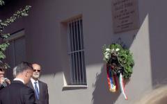 <em>Hír szerkesztése</em> Gyulán emlékeztek meg Salacz Gyuláról
