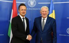 <em>Hír szerkesztése</em> A határátkelőhelyek megnyitása is téma volt a román–magyar külügyminiszteri találkozón