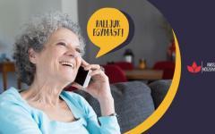 <em>Hír szerkesztése</em> Telefonos tájékoztató vonal: halljuk egymást!