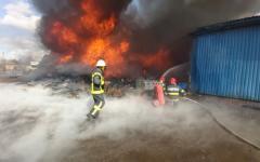 <em>Hír szerkesztése</em> Százezer lejre bírságolták meg a kigyulladt hulladéklerakatot
