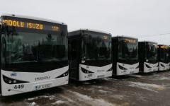 <em>Hír szerkesztése</em> Nyolc buszt kapott a közszállítási vállalat