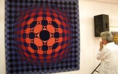 <em>Hír szerkesztése</em> Megnyílt a Vasarely-kiállítás [AUDIÓ]