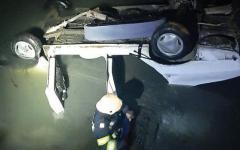 <em>Hír szerkesztése</em> Megint vizesárokba borult egy autó Borosjenő határában