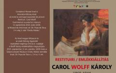 <em>Hír szerkesztése</em> Wolf Károly-emlékkiállítás nyílik szerdán